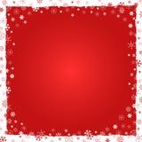 Fondo del Año Nuevo (la Navidad) con la frontera stock de ilustración