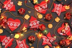Fondo del Año Nuevo o de la Navidad Fotos de archivo