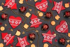 Fondo del Año Nuevo o de la Navidad Foto de archivo libre de regalías