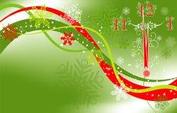 Fondo del Año Nuevo, vector Foto de archivo