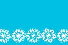 Fondo del Año Nuevo y de la Navidad con los copos de nieve para su texto Imágenes de archivo libres de regalías