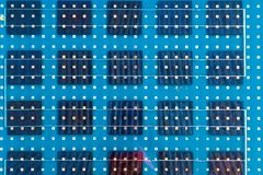Fondo del abstarct del pannello solare fotografia stock