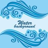 Fondo del agua Fotos de archivo libres de regalías