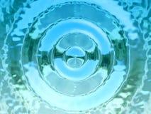 Fondo del agua fotografía de archivo