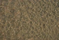 Fondo del agua de la playa Fotografía de archivo libre de regalías