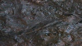 Fondo del agua en la cámara lenta almacen de video