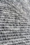 Fondo del agua que conecta en cascada abajo de la presa de Avon, Dartmoor Imagenes de archivo