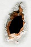 Fondo del agujero Foto de archivo