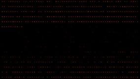 Fondo del AI de la inteligencia artificial del rojo anaranjado de Tron libre illustration