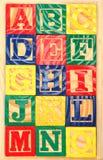 Fondo del alfabeto de ABC Imagenes de archivo
