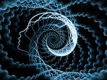 Fondo del alma y de la mente ilustración del vector