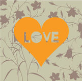 Fondo del amor Fotos de archivo