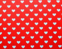 Fondo del amor del corazón Foto de archivo