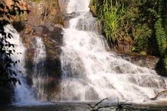 Fondo del amor del valle de la ca?da del agua imagenes de archivo