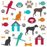 Fondo del animal doméstico Imagenes de archivo