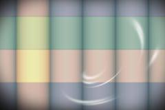 Fondo del anuncio del diseño de las dimensiones de una variable Foto de archivo