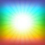 Fondo del arco iris Fotografía de archivo libre de regalías