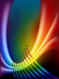 Fondo del arco iris Imágenes de archivo libres de regalías