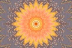 Fondo del arco iris del estampado de flores multicolor shapes stock de ilustración