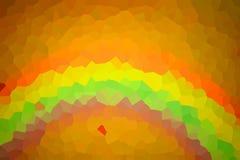 Fondo del arco iris del modelo de mosaico Fotografía de archivo