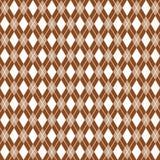 Fondo del argyle di Brown, modello del argyle Immagini Stock