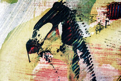 Fondo del arte abstracto Fotografía de archivo libre de regalías