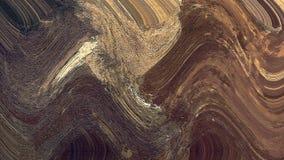 Fondo del arte abstracto Pintura al óleo original en lona Fragmento de las ilustraciones Movimientos de la brocha Art Texture mod libre illustration