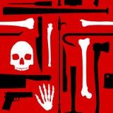 Fondo del asesinato stock de ilustración