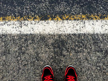 Fondo del asfalto Foto de archivo