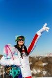 Fondo del atleta del cielo azul Fotos de archivo