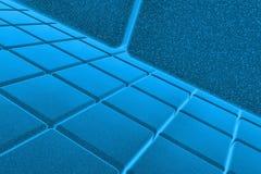 fondo del azul 3D Fotografía de archivo