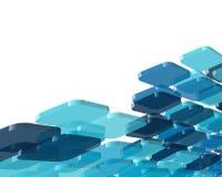 Fondo del azul de la tecnología Imágenes de archivo libres de regalías