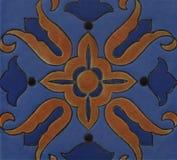 Fondo del azulejo de mosaico Imagen de archivo