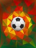 Fondo del balón de fútbol de Portugal Fotos de archivo libres de regalías