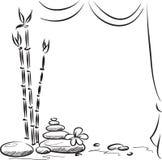 Fondo del balneario libre illustration