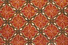 Fondo del batik Fotos de archivo