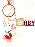 Fondo del bebé Imágenes de archivo libres de regalías