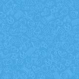 Fondo del bebé azul Imagen de archivo
