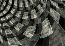 Fondo del beneficio de la riqueza de la creación del flujo de liquidez Fotografía de archivo