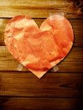 Fondo del biglietto di S. Valentino Fotografia Stock
