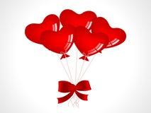 Fondo del biglietto di S. Valentino illustrazione di stock