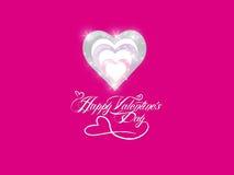 Fondo del biglietto di S. Valentino del san Immagine Stock Libera da Diritti