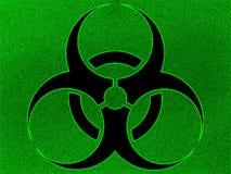 Fondo del biohazard de la ilustración Fotos de archivo libres de regalías
