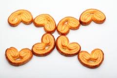 Fondo del blanco de la calidad de Sugar Cookies Studio del caramelo Foto de archivo