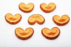 Fondo del blanco de la calidad de Sugar Cookies Studio del caramelo Foto de archivo libre de regalías
