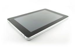 Fondo del blanco de la tableta Foto de archivo libre de regalías