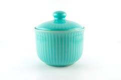 Fondo del blanco de la taza de la porcelana Fotos de archivo libres de regalías