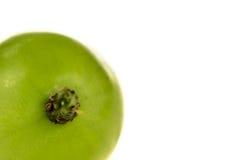Fondo del blanco de las uvas Fotografía de archivo libre de regalías