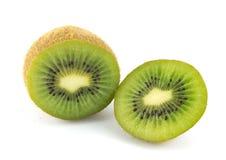 Fondo del blanco del kiwi Imagen de archivo