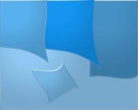 Fondo del blu del filo di ordito Fotografia Stock